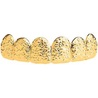 One size fits all top Grillz - NUGGET gold