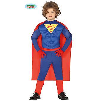 Super helten Muscleman helten superhelt kostyme barn kostyme tegneserie drakt