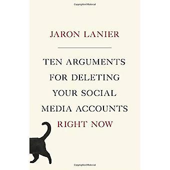 Tio argument för att ta bort dina konton för sociala Media just nu