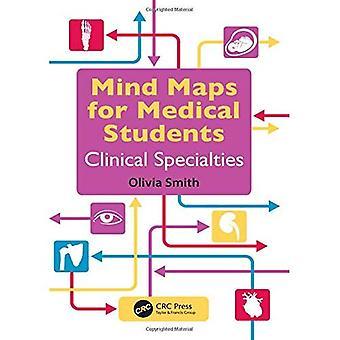 Mindmappen voor geneeskundestudenten klinische specialiteiten