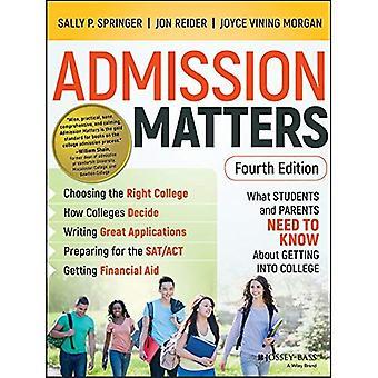 Eintritt kommt es an: Was Schüler und Eltern wissen darum in College müssen