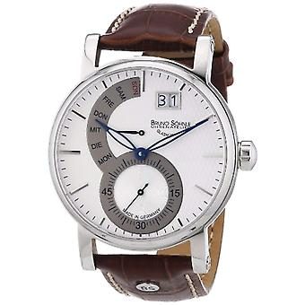 Bruno S_hnle Pesaro the 17-13073-283-wrist watch for men, brown leather strap