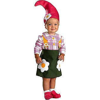 Puutarha Gnome taapero puku