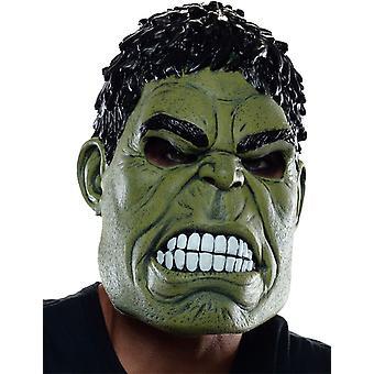 Hulk 3/4 Mask For Adults