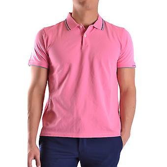 Peuterey Ezbc017022 Men's Pink Cotton Polo Shirt