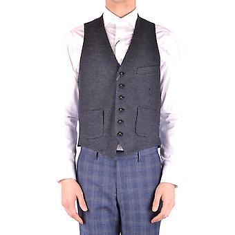 Manuel Ritz Ezbc128024 Men's Grey Acryl Vest
