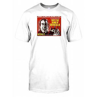 Taste The Blood Of Dracula - klassieke Britse horrorfilm Mens T Shirt