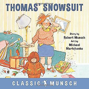 Thomas' Snowsuit by Robert Munsch - 9781773210377 Book
