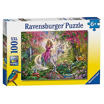 Ravensburger Unicorns XXL 100pc quebra-cabeça