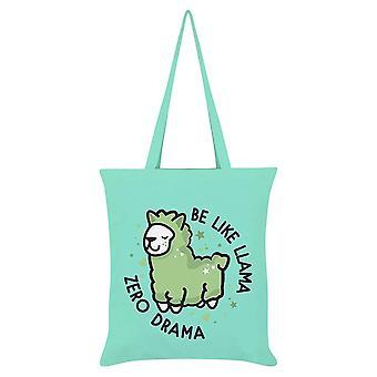 Grindstore Be Like Llama Zero Drama Tote Bag