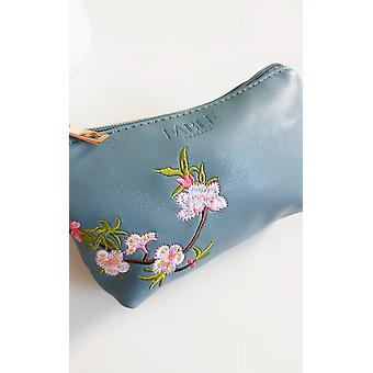 IKRUSH Womens Kora Flower Print Embroidered Pouch Bag
