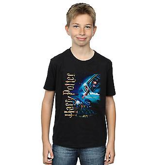 Harry Potter Boys Smiles At Hogwarts T-Shirt