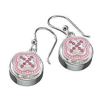 KAMELEON JewelPop Round Sterling Silver Earrings KE8