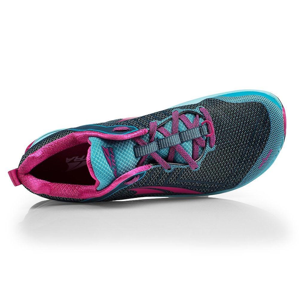 Altra Timp 1.5 Womens Higher Cushioning Zero Drop Trail Running Shoes Blue/raspberry
