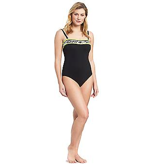 Féraud 3195305-10995 Women's Voyage Black Costume One Piece Swimsuit