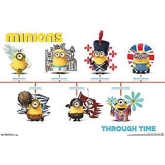 Poster - Despicable Me - Minions Through Time New Wall Art 22