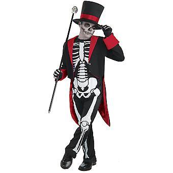 Bristol Novità Bambini/Bambini Mr Bone Jangles Costume di Halloween
