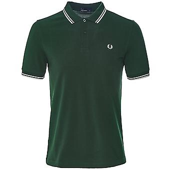 Fred Perry Twin Tipped Polo Camisa M3600 406