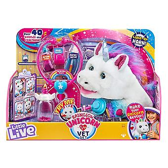 Piccolo Live Rainglow Unicorn Vet Set