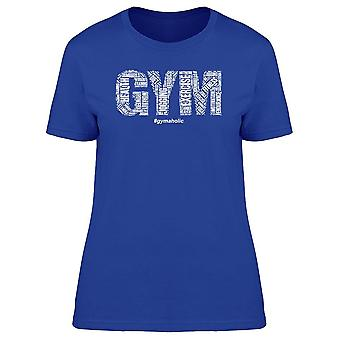 Gym Art workout gymaholic tee naiset ' s-Image Shutterstockissa