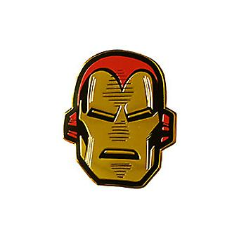 Autocollant - Marvel - Iron Man Head 1-quot; New Gifts Toys s-mvl-0072-m