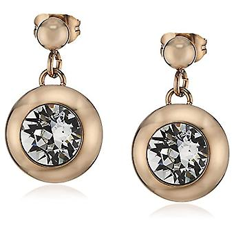 s.Oliver - Women's stainless steel earrings with white Swarovski crystal