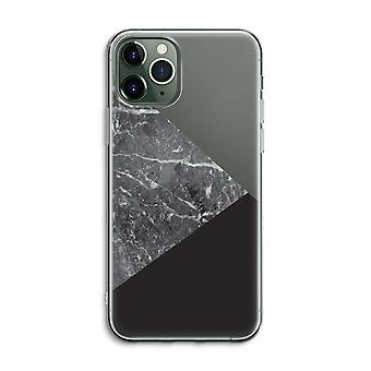 iPhone 11 Pro Max Transparent Case (Soft) - Marble combination