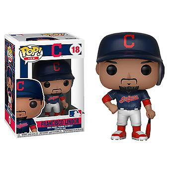 Major League Baseball Francisco Lindor Pop! Vinyl