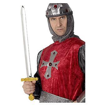 メンズ騎士剣デザインの凝った服アクセサリー