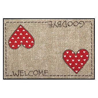 Salon lion washable doormat Laura's heart 50 x 75 cm SLD0843-050 x 075