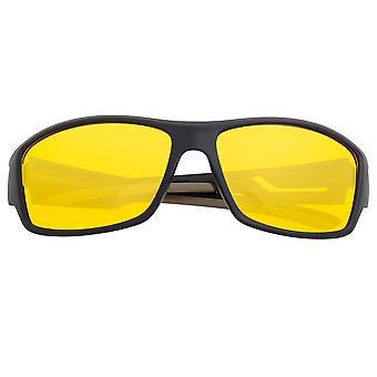 Nest van Aquarius gepolariseerde zonnebrillen-zwart/geel