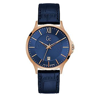 Gc Y38002G7 Men's Rose Gold Tone Executive Wristwatch