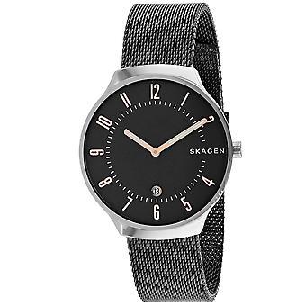 Skagen Men's Grenen Black Dial Watch - SKW6460