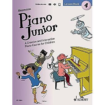 Piano Junior Lesson Book 4 4  A Creative and Interactive Piano Course for Children by Hans G nter Heumann