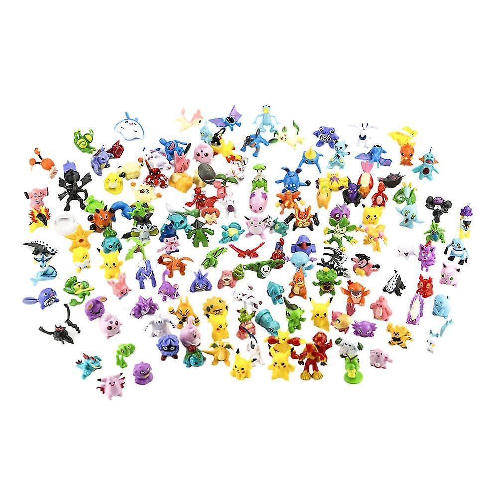 144x personajes Pokémon lindos y coloridos (BIG PACK)