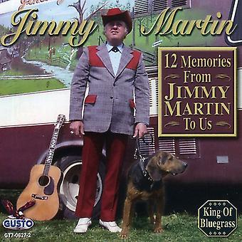 Jimmy Martin - 12 memorias de Jimmy Martin a importación de USA nosotros [CD]