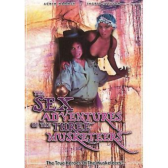 Sex Adventures of the Three Musketeers [DVD] USA import