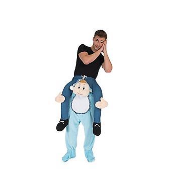 Baby piggy-back bear me rider costume