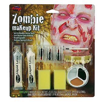 Wicked Costumes Fun World Zombie Makeup Kit