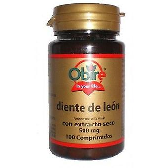Obire Dandelion 500 mg Dry Extract 100 Tablets