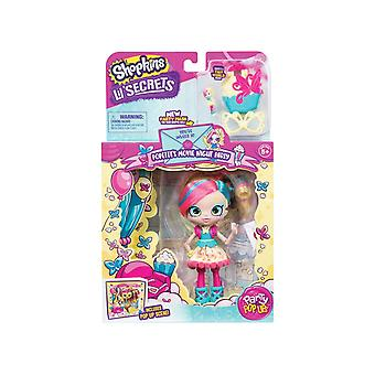 Shopkins Lil' Secrets Party Pop Ups Popette's Movie Night Party Shoppies Doll