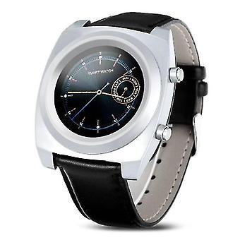 الاشياء المعتمدة® الأصلي Z03 الذكي SmartWatch الذكي اللياقة البدنية الرياضة تعقب النشاط ووتش OLED iPhone سامسونج هواوي الفضة