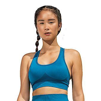 Utendørs utseende kvinner sømløs 3D-passform multi sport BH