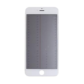 4 In 1 White Top Glass & Frame For iPhone 6S Plus   iParts4u
