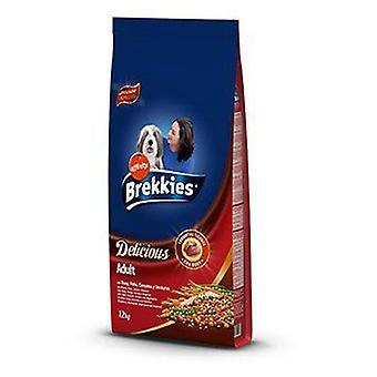 Brekkies Excel Cibo Secco per Cani Delicious di Bue, Pollo, Cereali e Ortaggi