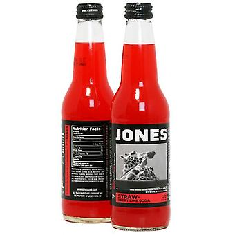 Jones Strawberry/lime-( 355 Ml X 12 Cans )