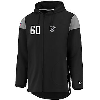 Iconic Franchise Full Zip NFL Hoodie - Raiders d'Oakland