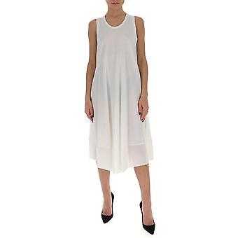 Gentry Portofino D549jeg0011 Women's White Cotton Dress
