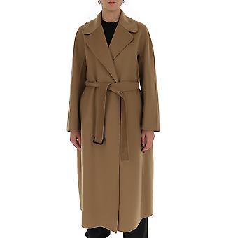 -apos;S Max Mara 90110701600700067 Women-apos;s Brown Wool Coat