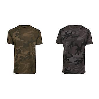 Rakenna Brand Miesten naamiointi Tulosta T-paita